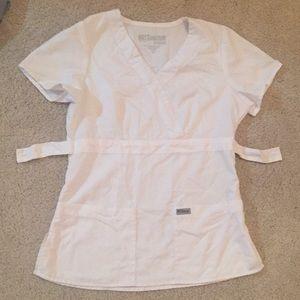 Greys Anatomy scrubs/modern fit mock wrap